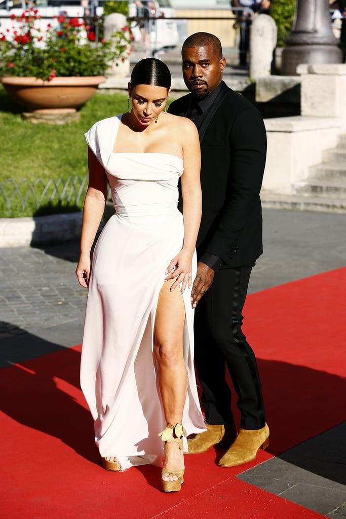 Kim Kardashian White Vivienne Westwood Dress May 2016
