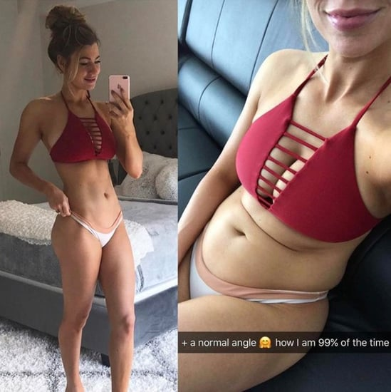 Anna Victoria Shows Realistic Before and After Selfies