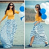 Offset a playful polka-dot print with Chucks and a solid toned shirt. Photo courtesy of Lookbook.nu