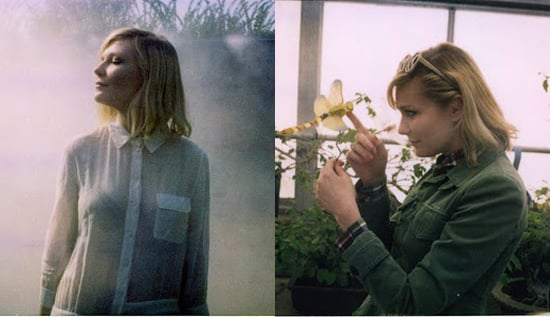 Kirsten Dunst Models Boy by Band of Outsider's Spring/Summer 2011 Collection