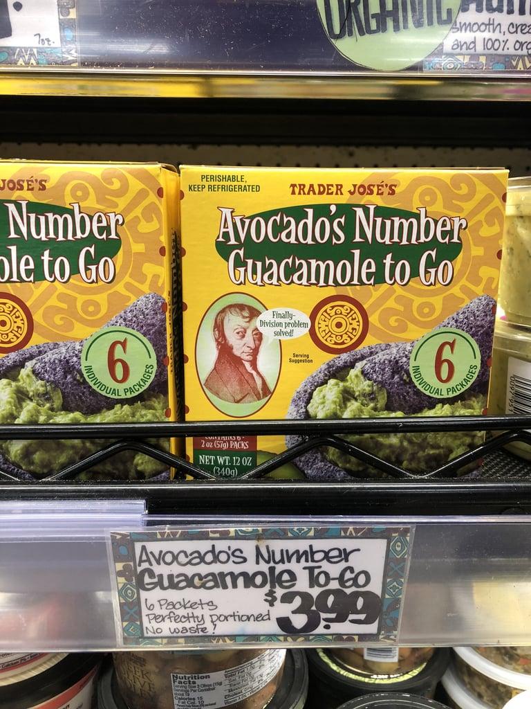 Avocado's Number Guacamole To-Go ($4)