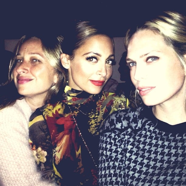 Nicole Richie had a night out with friends Jennifer Meyer and Erin Foster. Source: Instagram user nicolerichie