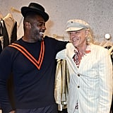 Idris Elba and Sir Bob Geldof