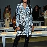 Chanel Iman at the Elie Tahari New York Fashion Week Show