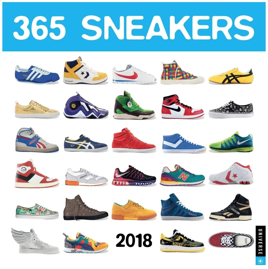 2018 Sneaker Calendar | Best Fashion Gifts 2017 | POPSUGAR Fashion