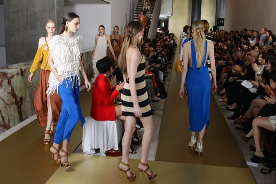 Runway Review and Pictures from Manning Cartell Summer 2011-12 RAFW Fashion Week Show