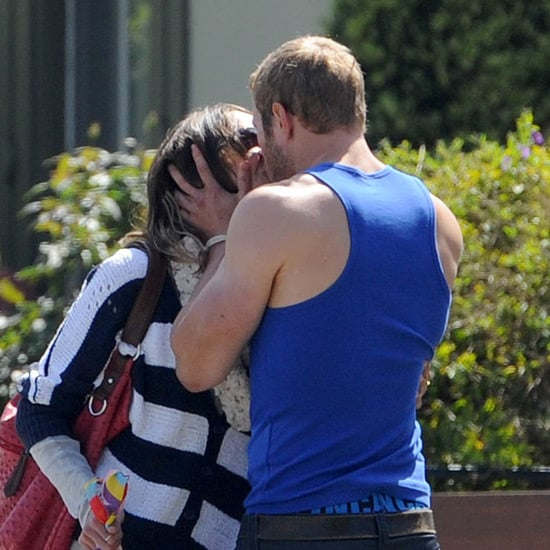 Sharni Vinson and Kellan Lutz Kissing Pictures in LA