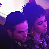 Robert Pattinson and FKA Twigs Out in London November 2015