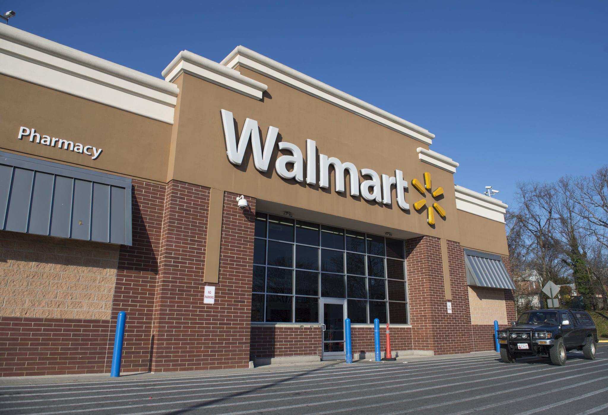 A Walmart store is seen in Landover, Maryland, December 31, 2014. AFP PHOTO / SAUL LOEB        (Photo credit should read SAUL LOEB/AFP via Getty Images)