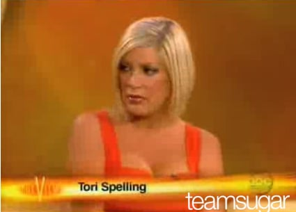 Tori Spelling on The View