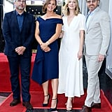 Jennifer Garner and Kids at Hollywood Star Ceremony 2018