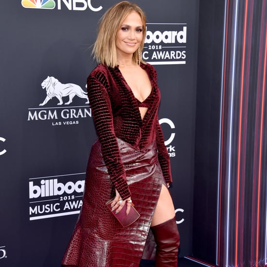 Jennifer Lopez at the Billboard Movie Awards 2018