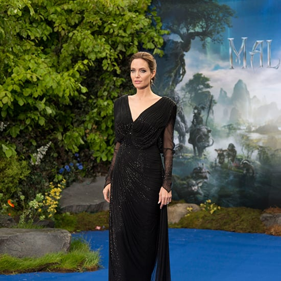 Angelina Jolie in Black For Maleficent | Video