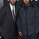 Chris Rock was accompanied by Kanye West for the NYC premiere of his film, Top Five.