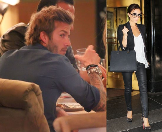 Pictures of Victoria and David Beckham