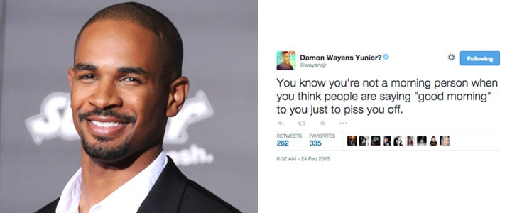 Damon Wayans Jr.'s Funniest Tweets