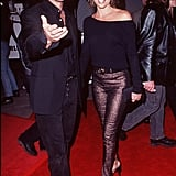 Harry Hamlin and Lisa Rinna in 1997