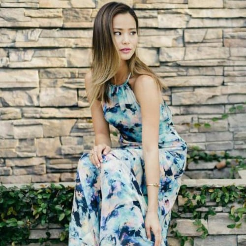 Jamie Chung Bridesmaid Dresses