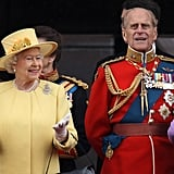 Pictured: Queen Elizabeth and Prince Philip.