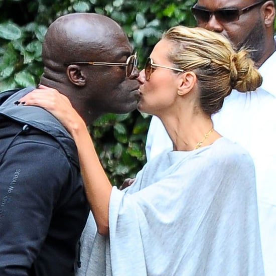 Heidi Klum and Seal Kiss at Their Kids' Soccer Game