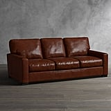 Get the Look: Turner Square Arm Leather Sofa