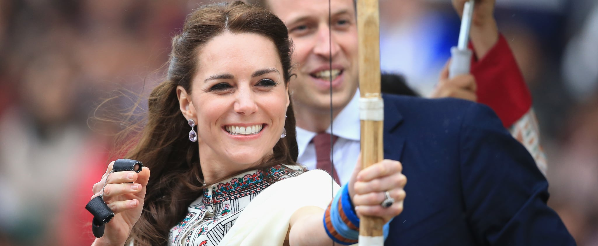 See Pictures of Kate Middleton Playing Sports