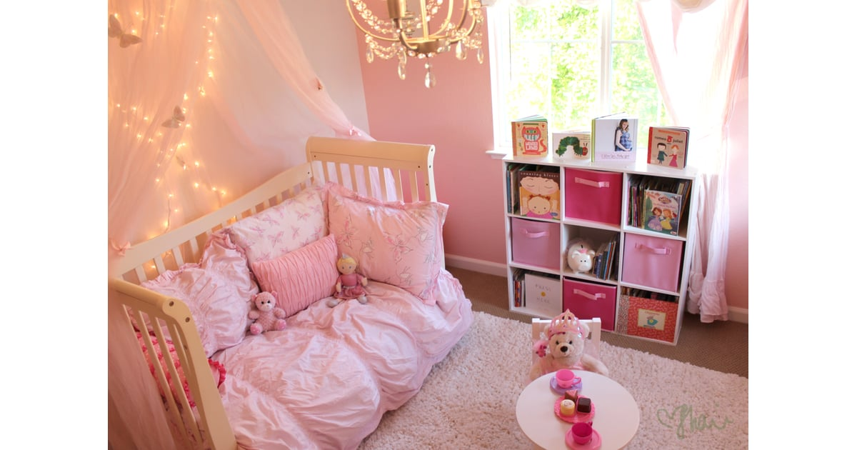 Comfy Space Pink Princess Butterfly Room For Girls