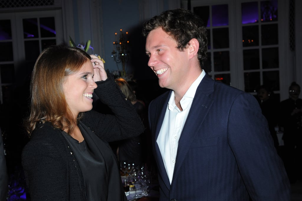 "Princess Eugenie will gain a husband when she ties the knot with Jack Brooksbank on Oct. 12, but what about a new last name? Given that Eugenie is a royal and all, the marriage rules are a tad stricter. However, she still has the option of taking his last name if she wants to. According to royal historian Marlene Koenig, after the wedding, Eugenie can decide whether she still wants to be addressed as HRH Princess Eugenie or if she wants to be styled as HRH Princess Eugenie, Mrs. Jack Brooksbank. She also has the option of completely giving up her title and becoming Lady Eugenie.  Jack, on the other hand, will probably not get a royal title like Meghan Markle did, and will likely remain Jack Brooksbank. ""There is no precedent for giving a peerage to the commoner husband of a princess on the wedding day,"" Marlene added. Well, I guess we will all find out what Eugenie decides come October.       Related:                                                                                                           10 Reasons Princess Eugenie and Jack Brooksbank's Wedding Will Be Nothing Short of Amazing"