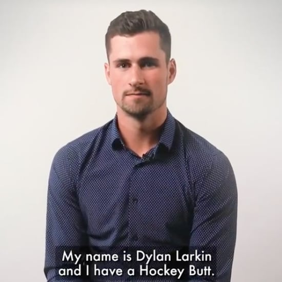 "Watch Dylan Larkin's Clothing Commercial About ""Hockey Butt"""