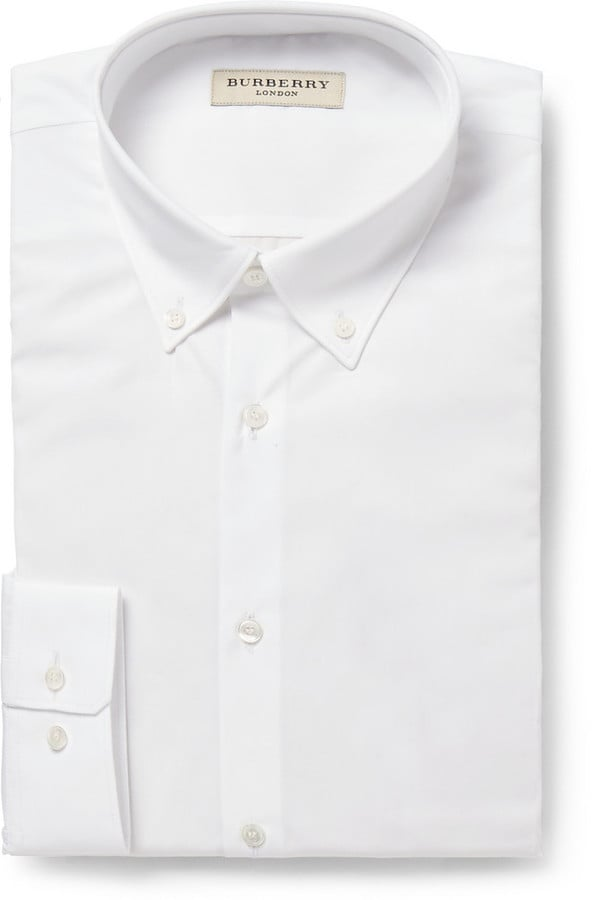 Burberry London White Cotton Shirt (£225.00)
