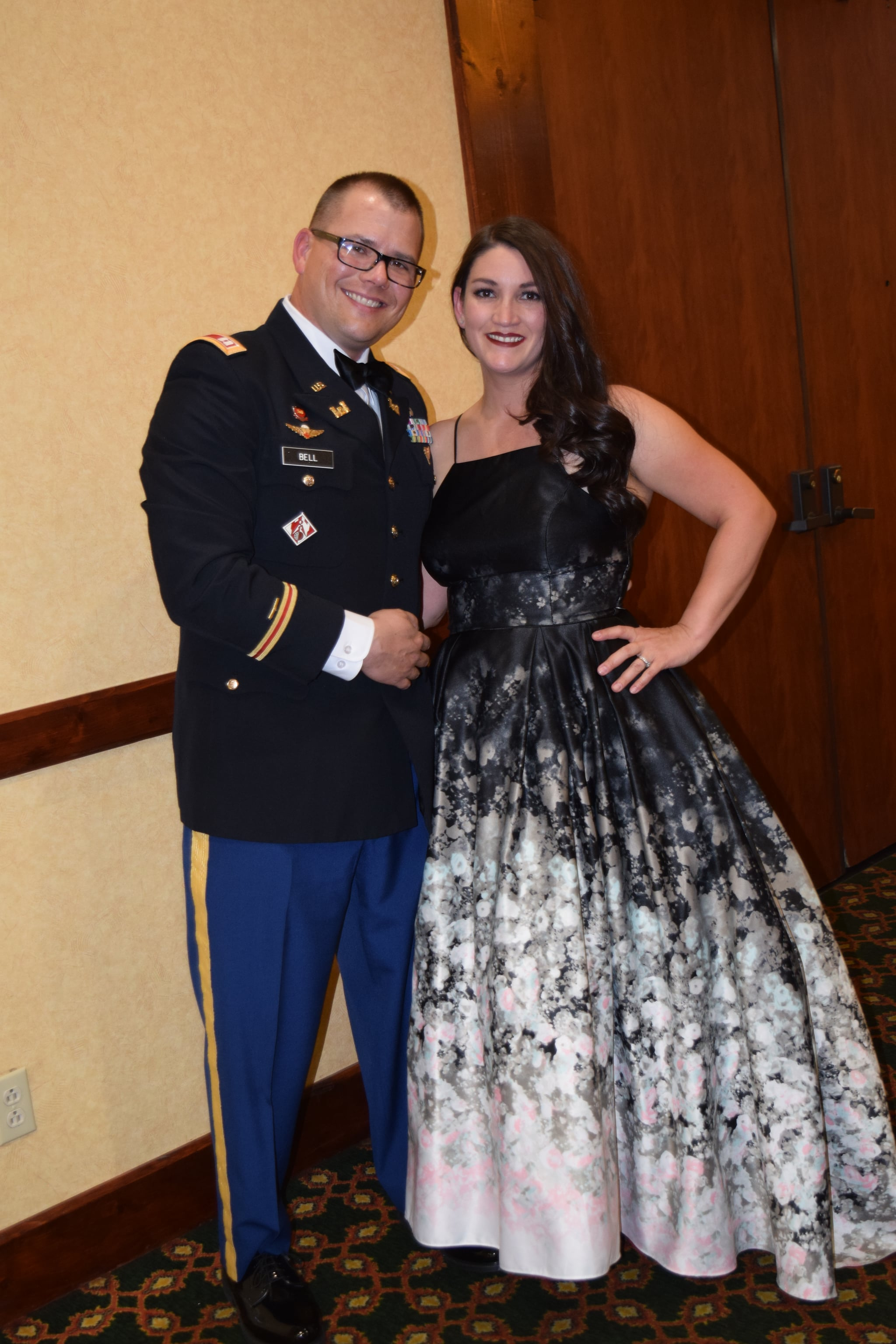 CPT and Mrs. Bell
