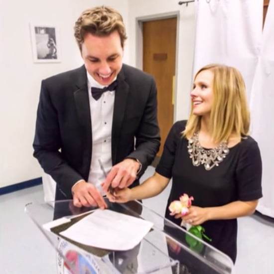 Kristen Bell's Wedding Style