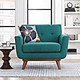 Modway Engage Mid-Century Modern Upholstered Fabric Accent Chair