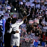 Michelle and Barack both made their national debut at the 2004 Democratic National Convention.