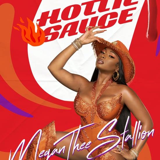 Megan Thee Stallion and Popeyes Hottie Sauce