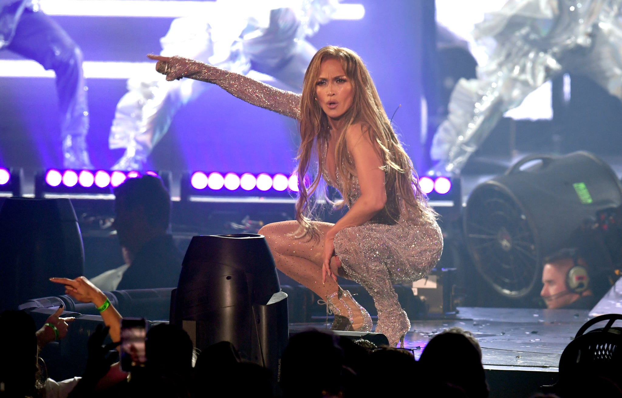 INGLEWOOD, CALIFORNIA - JUNE 07: Jennifer Lopez performs onstage during the It's My Party Tour at The Forum on June 07, 2019 in Inglewood, California. (Photo by Kevin Winter/Getty Images for ABA)