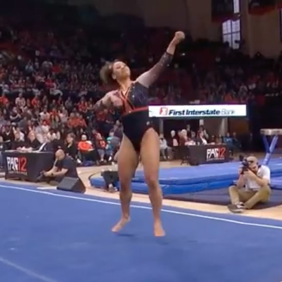 Soulja Boy Hip-Hop Floor Routine From Isis Lowery