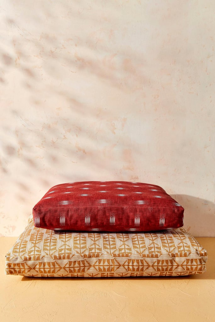 House of Harlow 1960 Creator Collab Burgundy Ikat Dog Bed