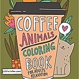 Coffee Animals Colouring Book