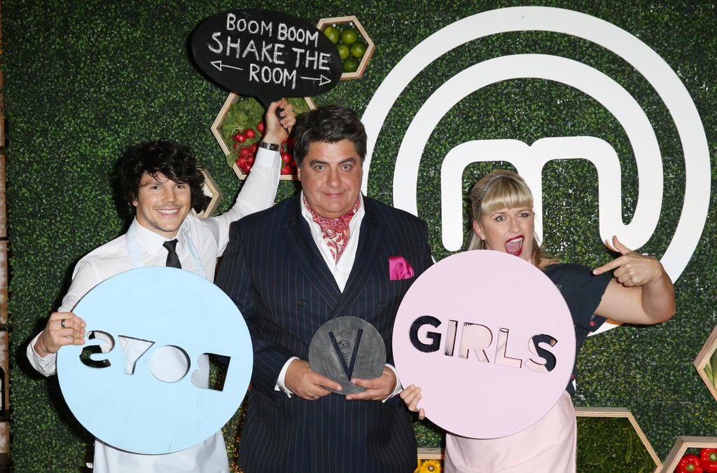 Daniel Churchill, Matt Preston and Emma Dean