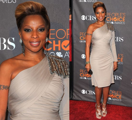 Photos of Mary J. Blige at the 2010 People's Choice Awards 2010-01-06 18:25:53