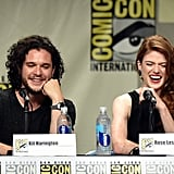 Later, at the Game of Thrones Panel, They Couldn't Even Contain Themselves Next to Each Other