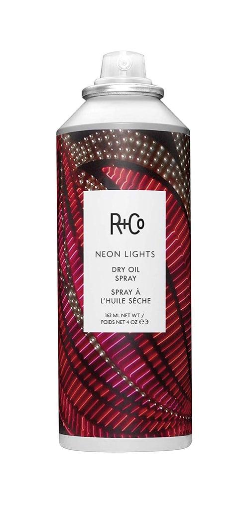 R+Co Neon Lights Dry Oil Spray