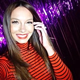 Ricki-Lee couldn't look happier — fitting, then, that she was wishing us all happy International Happiness Day! Source: Instagram user therickilee
