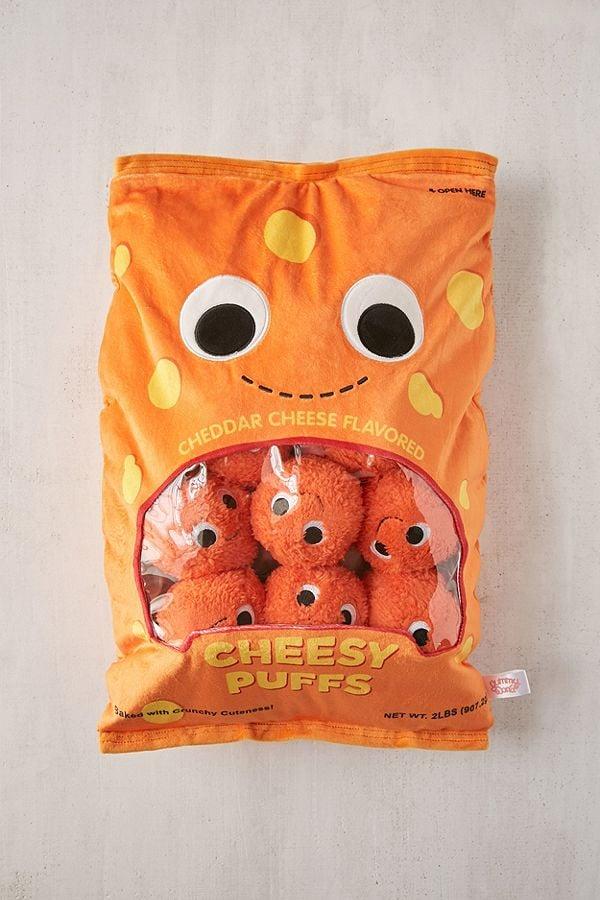Giant Stuffed Cheese Balls Plush