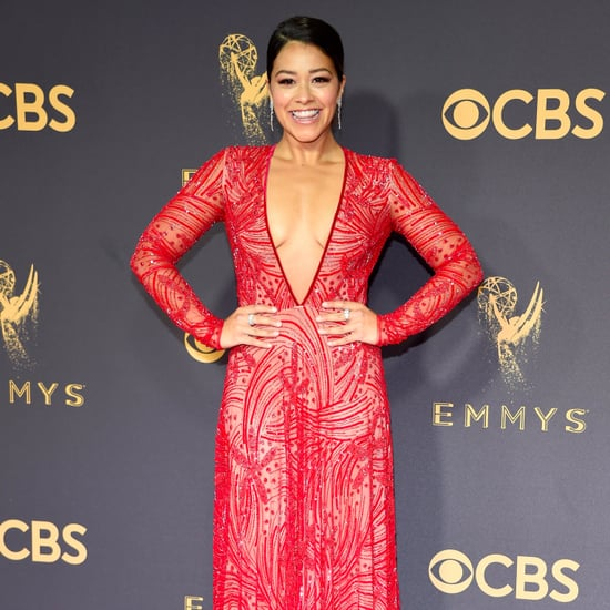 Gina Rodriguez Naeem Khan Emmys Dress 2017