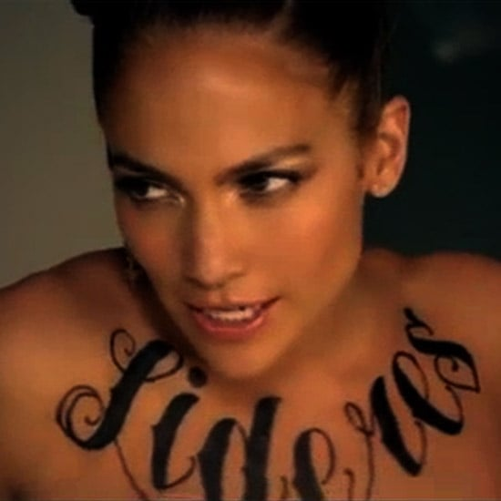"Jennifer Lopez Tattoos in ""Follow the Leader"" Video (Video)"