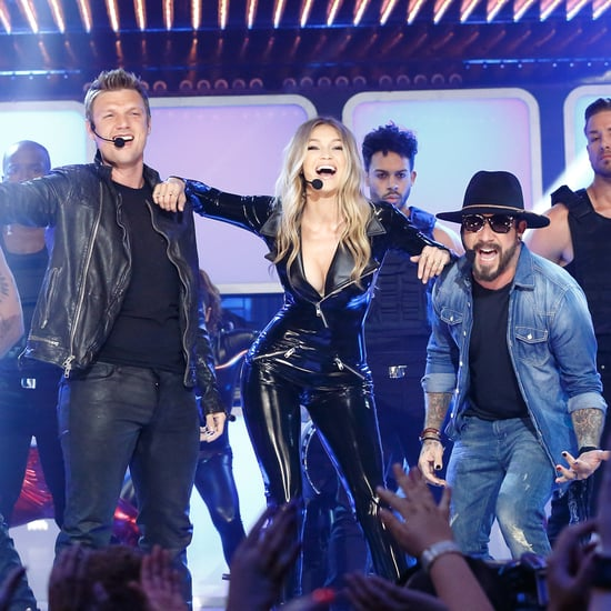 Gigi Hadid On Lip Sync Battle Video: Backstreet Boys Perform At The H&M Fashion Show