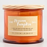 Mexican Pumpkin Filled Jar Candle With Lid