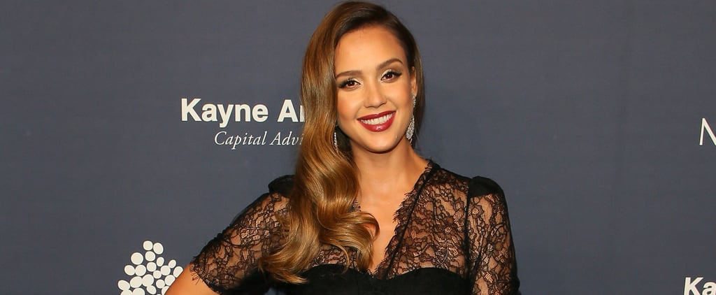 "Jessica Alba Admits She Feels ""Sort of Like Humpty Dumpty"" Being Pregnant"